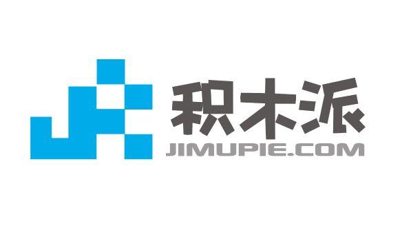 积木动物logo