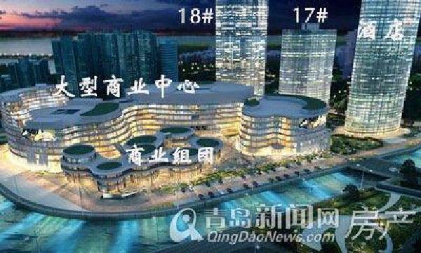 太平洋梦时代广场项目坐落于青岛经济技术开发区与胶南市交汇处滨海