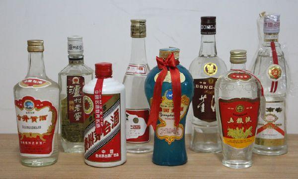 中国八大名酒_90年代八大名酒套装