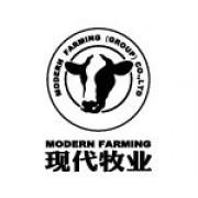 现代牧业logo