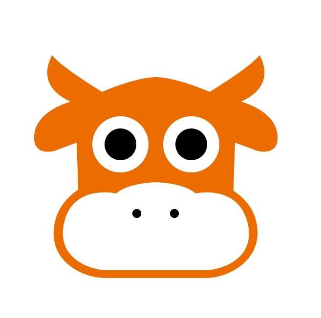屋牛电商logo