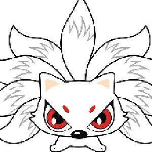狐玝 手绘