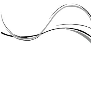 曲线手绘效果图