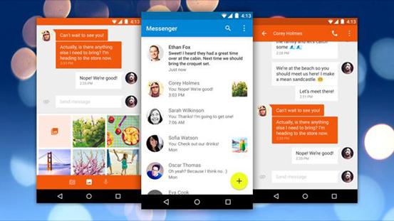 新消息应用Google Messenger登陆谷歌商店