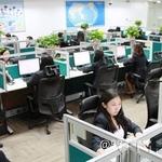 中国民生银行信用卡中心办公环境
