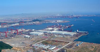 【青岛北海船舶重工办公环境】青岛北海船舶重工工作