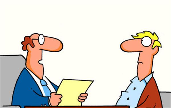 求职图片素材卡通