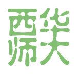 西华师大logo