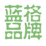 蓝格品牌logo