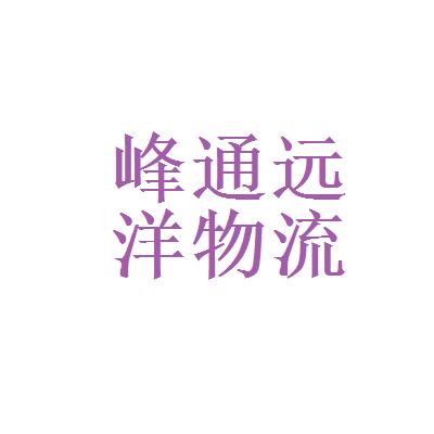 北京峰通远洋物流有限公司logo