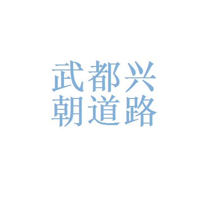 武都兴朝道路桥梁有限责任公司logo