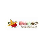 番茄苗美术中心logo