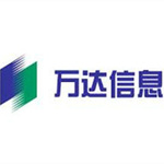 万达信息logo