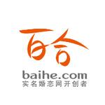 百合网logo