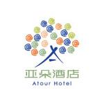 亞朵酒店logo