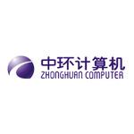 天津市中环电子计算机公司logo