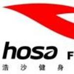 浩沙健身logo