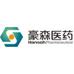 豪森药业logo