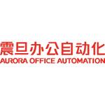 上海震旦办公自动化logo