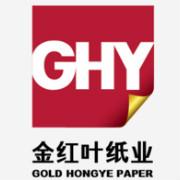 金红叶纸业logo