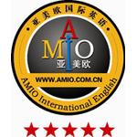亚美欧国际英语logo