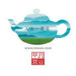 平月茶业logo