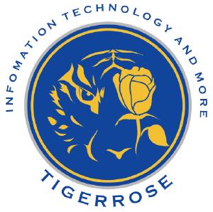 老虎玫瑰logo