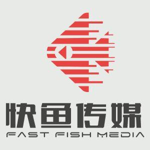 快鱼传媒logo