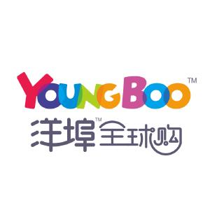 洋埠全球购logo