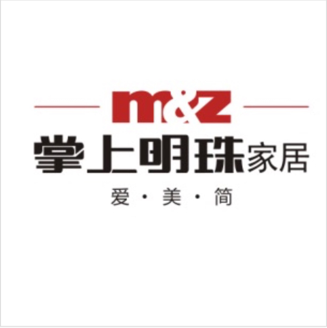 明珠家具股份有限公司logo