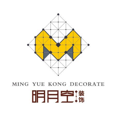 武汉明月空装饰设计工程有限公司logo